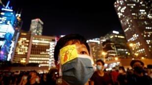 Biểu tình trước trụ sở chính quyền Hồng Kông đòi hỏi cải cách chính trị, ngày 22/08/2019.