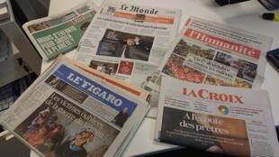 Diarios franceses  30.11.2018