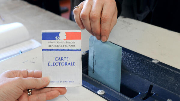 25% of voters failed to show to the polls in the second round of the French presidential election on May 7, 2017.