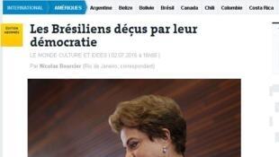 Reportagem do Le Monde publicada nesta sexta 3 de julho.