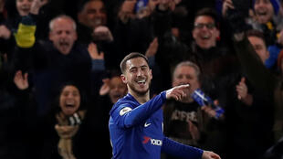 Eden Hazard scored twice to help Chelsea to a 3-0 victory over bottom club West Bromwich Albion.