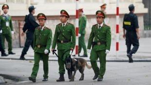 越南警察資料圖片