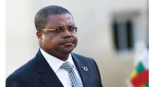 Nicolas Tiangaye, ex-Premier ministre de la Centrafrique.