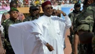 Niger's incumbent President Mahamadou Issoufou
