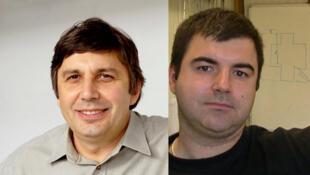 Dutch scientist Andre Geim and British-Russian Konstantin Novoselov