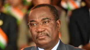 Parmi les personnalités pointées par les médias togolais, Komi Selom Klassou aurait détenu 20 actions de la société Wacem avant de devenir Premier ministre. Ici, le chef du gouvernement, le 30 juin 2015 à Abidjan. (Photo d'illustration)