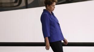 A presidente Dilma Rousseff.