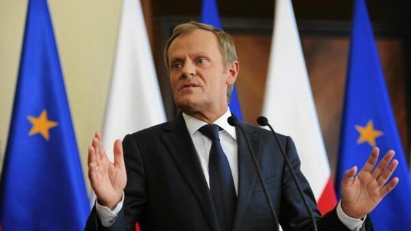 L'ancien Premier ministre polonais Donald Tusk, devenu président du Conseil européen depuis le 1er décembre 2014.