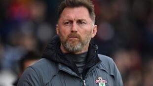 L'entraîneur autrichien de Southampton, Ralph Hasenhuttl, lors de la réception de Burnley, en Premier League, le 15 février 2020