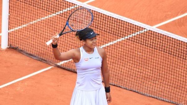 Naomi Osaka foi eliminada do torneio de Roland Garros neste sábado, 1° de junho de 2019.