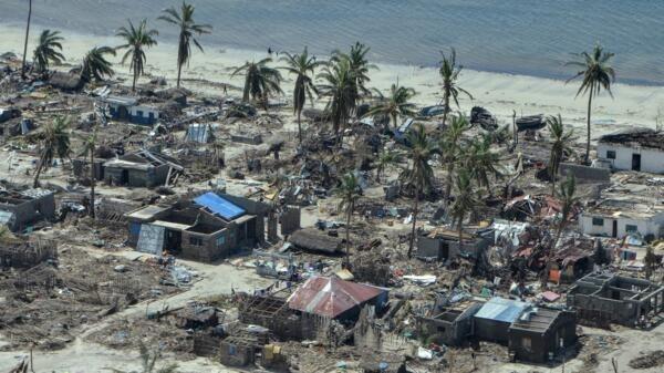 A ilha de Ibo era um destino paradisíaco conhecido por seus recifes de corais e praias dignas de cartões-postais