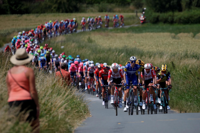 06/07/19- A tradicional Volta da França, a mais bela competição de ciclismo do mundo, deu a largada neste sábado (6), em Bruxelas.