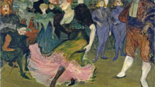 Henri de Toulouse-Lautrec - Marcelle Lender dansant le boléro dans Chilpéric  (1895-1896)