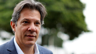Fernando Haddad, who is now the Workers Party candidate to be Brazil's president