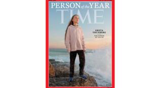 La jeune Suédoise, Greta Thunberg a été désignée personnalité de l'année par le magazine américain Time.