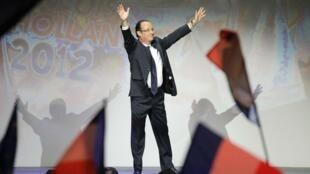 Socialist Party presidential hopeful, François Hollande