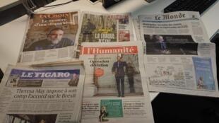 Diarios franceses  15 .11.2018