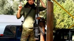 Reprodução vídeo do jihadista francês Maxime Hauchard.