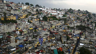 Una favela en la capital de México, 23 de julio de 2015.