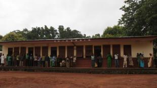 (Illustration) Le 11 juillet 2017, des hommes armés ont tué un bébé dans un hopital à l'est du pays. Sur cette photo, il s'agit de l'hôpital de Kaga-Bandoro, dans le centre de la Centrafrique.