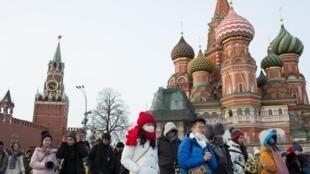 俄羅斯莫斯科紅場資料圖片