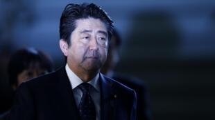 Премьер-министр Японии Синдзо Абэ, 23 января 2015 г.