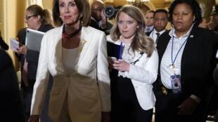 Nancy Pelosi, le 5 février dernier au Capitole.
