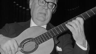 Andrés Segovia en 1962.