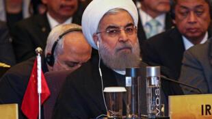 Le président iranien Hassan Rohani, le 10 octobre 2016.