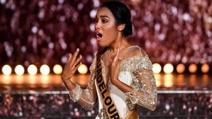 «Мисс Гваделупа», 22-летняя студентка Клеманс Ботино завоевала титул «мисс Франция-2020».