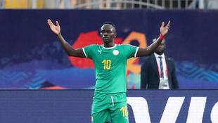 L'attaquant du Sénégal Sadio Mané, le 14 juillet 2019.