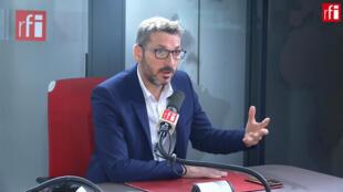 Matthieu Orphelin, député écologiste du Maine-et-Loire sur RFI, le 23 octobre 2019.