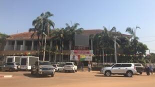 Siège du PAIGC à Bissau, Guinée-Bissau.
