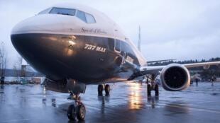 Máy bay Boeing 737 MAX 8 tại sân bay Renton, Hoa Kỳ