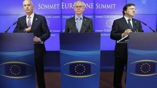 Председатель Евросоюза Херман Ван Ромпей. Июль 2011 (архив)