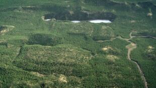 Projeto Montanha de Ouro, na Guiana Francesa.