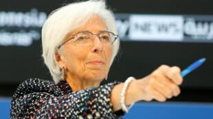Shugabar Asusun Lamuni na Duniya, Christine Lagarde