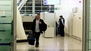 Un refugiado iraquí llega al aeropuerto de Erbil tras irse de Alemania, el pasado 27 de enero de 2016.