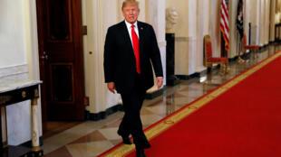 U.S. President Donald Trump on 1 March 2018