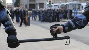 Летние акции протеста в Москве заканчивались многочисленными задержаниями