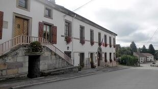 The town hall of Voivres in the Vosges' region, in Eastern France