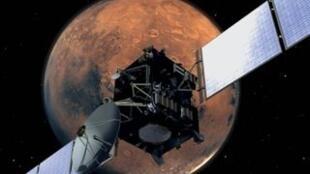 La sonde Rosetta.