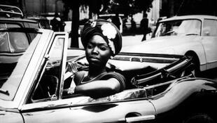 Safi Faye dans «Moi, un Noir» (1958).
