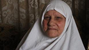 Zakkyeh, réfugiée palestinienne depuis 1948.