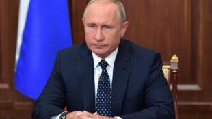 ប្រធានាធិបតីរុស្ស៊ី Vladimir Poutine ថ្លែងទៅកាន់ជាតិរុស្ស៊ីថ្ងៃពុធទី២៩សីហាពាក់ព័ន្ធអំពីកំណែទម្រង់សោធន៍និវត្តន៍