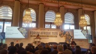 Le Forum Afrique du MOCI, le 7 février 2020 à Paris.