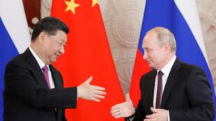 2019年6月5日,中國國家主席習近平訪問俄羅斯,在莫斯科與俄羅斯總統普京會晤。