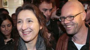 Marie Darrieussecq et Toine Heijmans, les lauréats du prix Médicis 2013.