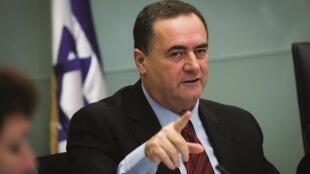 O chanceler inteiro de Israel, Yisrael Katz.