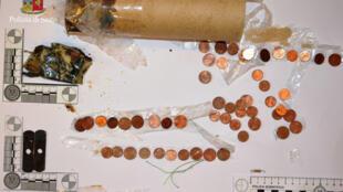 Во время обыска в квартире Илларионова полиция нашла элементы, которые могли бы служить для изготовления бомбы, 15 марта 2018.